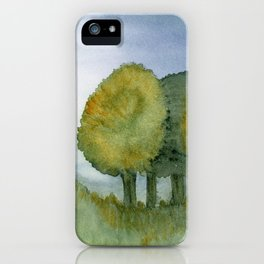 Late Summer Meadow iPhone Case