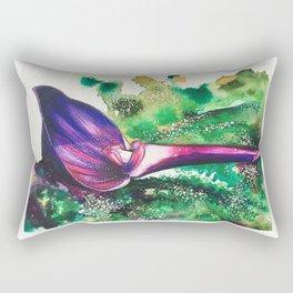 Violet Orchid Rectangular Pillow