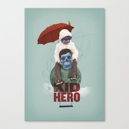 KID HERO Canvas Print