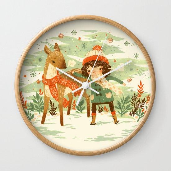 A Wobbly Pair Wall Clock