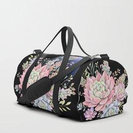 succulent fullmoon 6 Duffle Bag