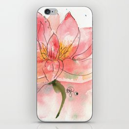SEKA Lotus iPhone Skin