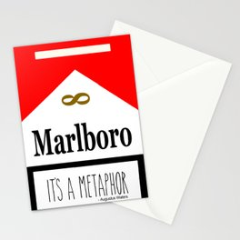 It's A Metaphor Stationery Cards