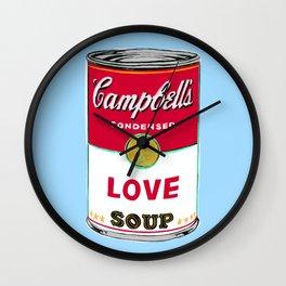Love Soup Wall Clock