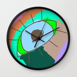 Eye- Little Drawers Series Wall Clock