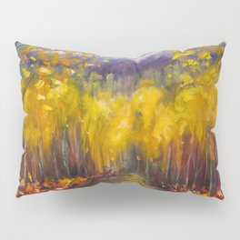 Uncompahgre National Forest Painting Pillow Sham