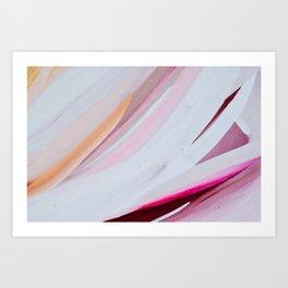 Abstract Brush Strokes, II Art Print