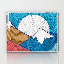 The Crosshatch Sky Laptop & iPad Skin