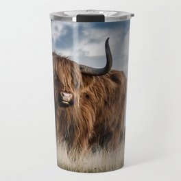 Bull Landscpe nature Travel Mug