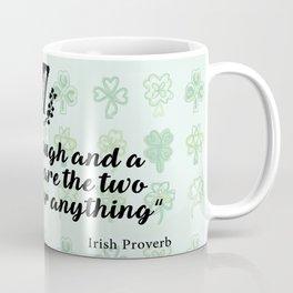 irish proverb Coffee Mug