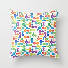 Metaball Design for Nerds Throw Pillow