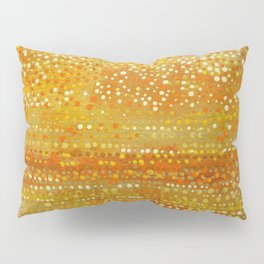 Landscape Dots - Orange Pillow Sham