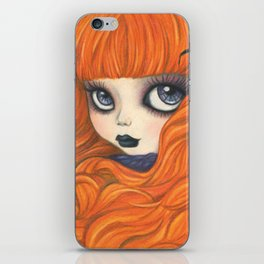 Spider Girl iPhone Skin