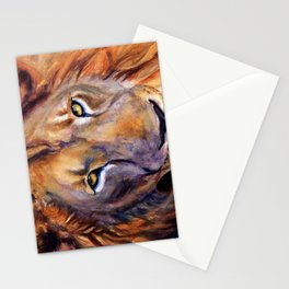 Lion Into The Light Stationery Cards