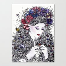 Fairest Flora Canvas Print