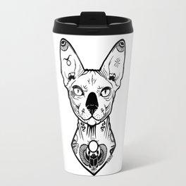 Sphynx Tattooed Travel Mug