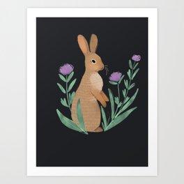 Mr Buns Art Print