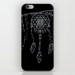 Shri Yantra / Dream Catcher iPhone Skin