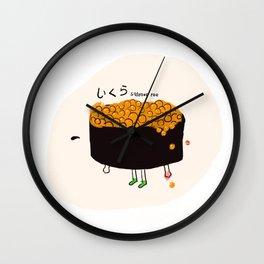 Salmon Roe Wall Clock