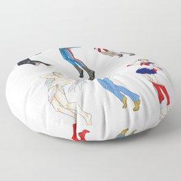 SILLY CAPTAIN Floor Pillow