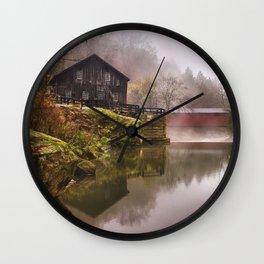 Morning at the Mill Wall Clock