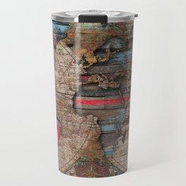 Distress World Travel Mug