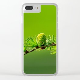 larch Clear iPhone Case