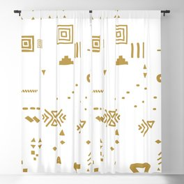 Boho Minimal Mood I. Blackout Curtain