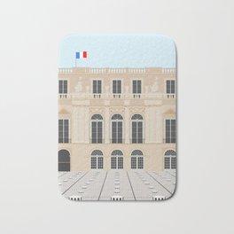 Buren's Columns, Palais Royal | Paris, France Bath Mat
