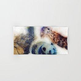Animals Painting Hand & Bath Towel