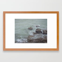 The ocean in French Framed Art Print