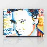 elvis iPad Cases featuring Elvis by Phil Fung