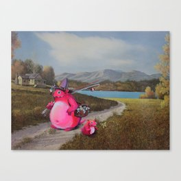 Goin' Home Canvas Print