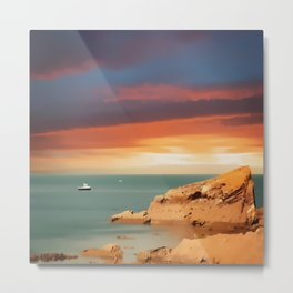 Across the sea Metal Print