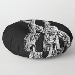 Rise of the Kraken - Octopus Tentacles 3 Floor Pillow