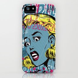 THRILLING MYSTERY iPhone Case