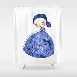 We Are Made Of Stardust Shower Curtain