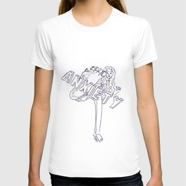 Fighting anxiety T-shirt