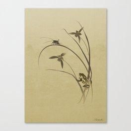 Orchid Sonata Canvas Print