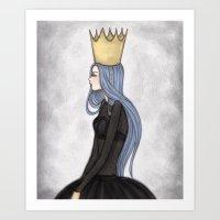 crown Art Prints featuring Crown by Meyyen