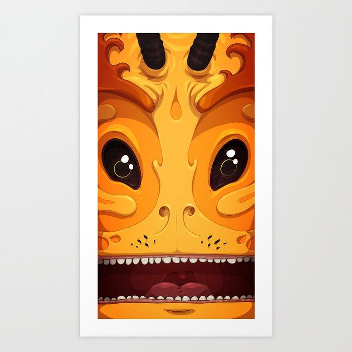 Pekoe Art Print