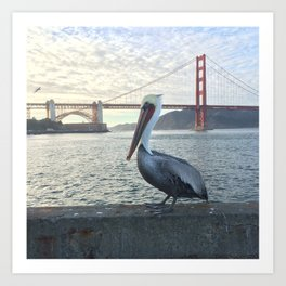 Sitting at the Dock of the Bay Art Print