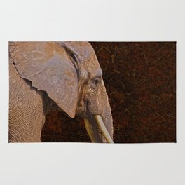 Compassion - Elephant and Quote Rug