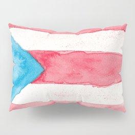 Puerto Rico Watercolour Pillow Sham