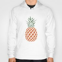 bag Hoodies featuring Pineapple  by basilique