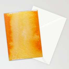 Horizontal Sunrise Haze Stationery Cards