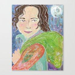 Annie's Baggage Canvas Print