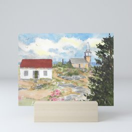Star Island-Room With A View Mini Art Print