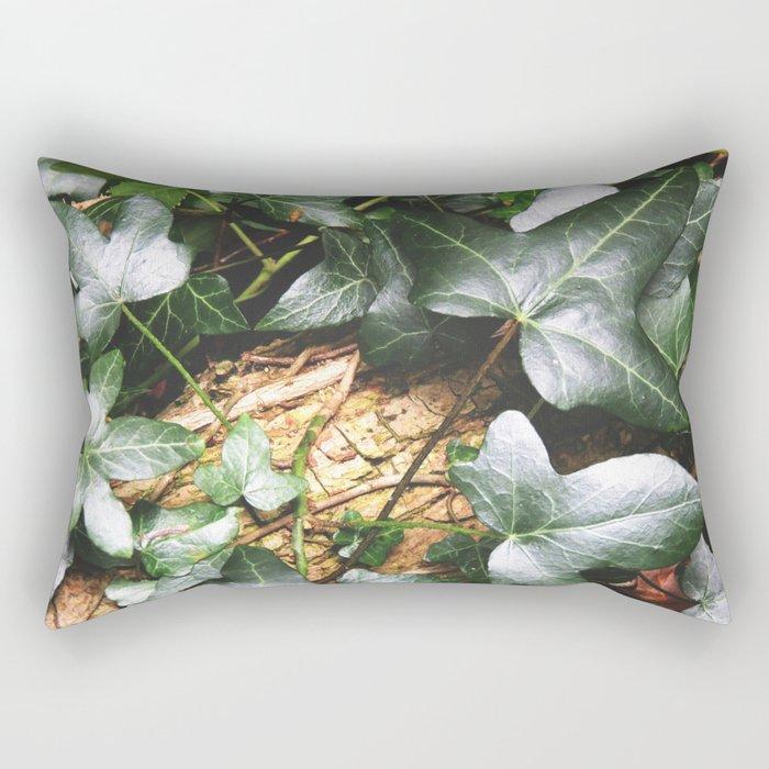 Leaf Carpet Rectangular Pillow