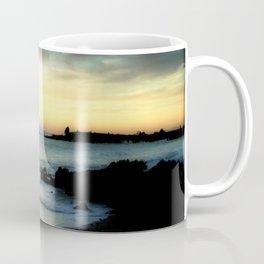 Sunrise over Bass Strait, Tasmania, Australia.  Coffee Mug